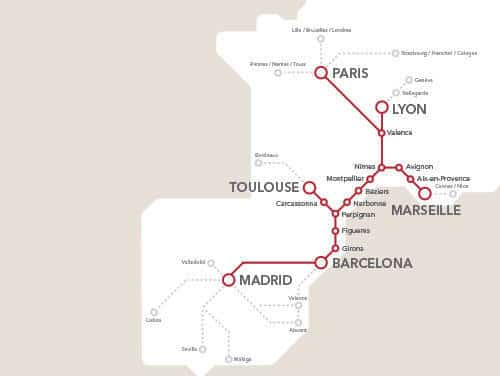 Carte Barcelone Gare Sants.Arriver En Tgv A Barcelone
