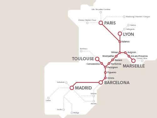 Carte France Tgv Carte Tgv