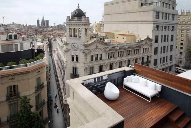 Room Mate terrasse vue