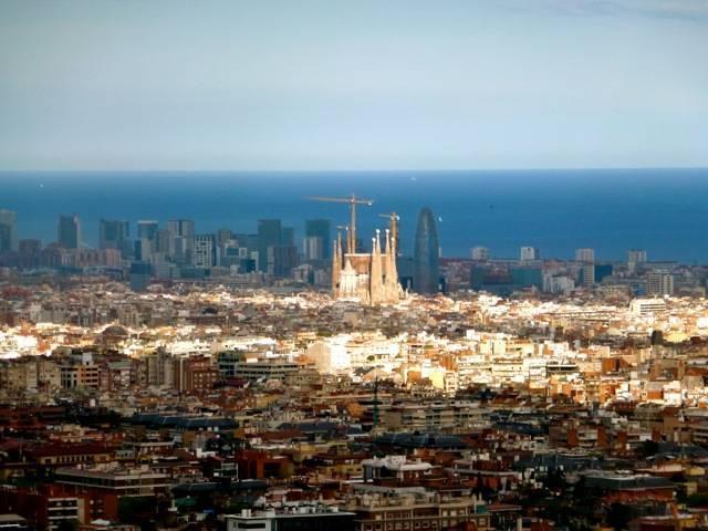 carretera de les aigues panorama barcelone