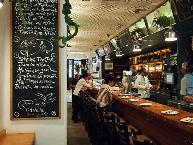 Bar Canete Bien Manger A Barcelone