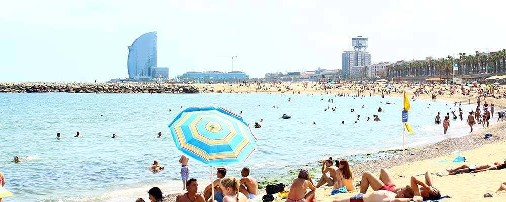 barcelone plage - Photo
