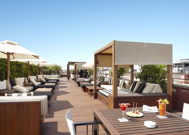 nos terrasses d 39 h tels coups de coeur barcelone les bons plans de barcelone. Black Bedroom Furniture Sets. Home Design Ideas