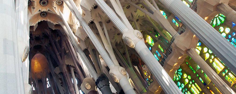 Sagrada familia abracadabrante uvre d 39 art de gaud - Billet coupe file sagrada familia ...