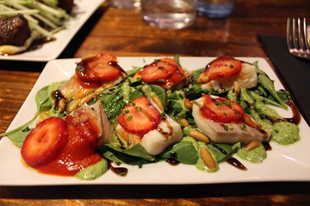 pepita salade de fraises