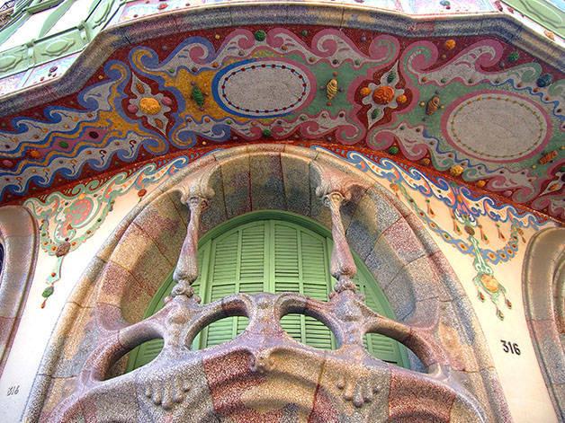 Promenade gratuite sur les traces de l 39 art nouveau catalan - Art nouveau architecture de barcelone revisitee ...