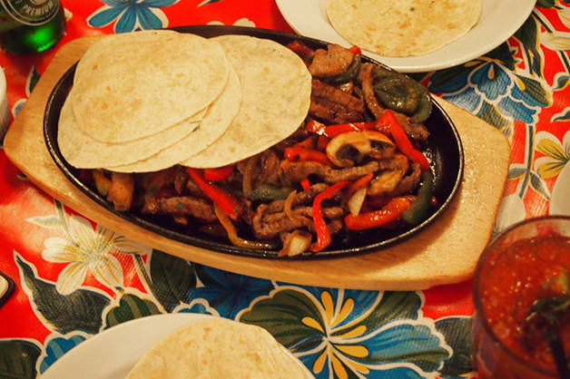 La rosa del raval cuisine mexicaine petits prix - Cuisine mexicaine fajitas ...