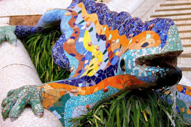 dragon park guell