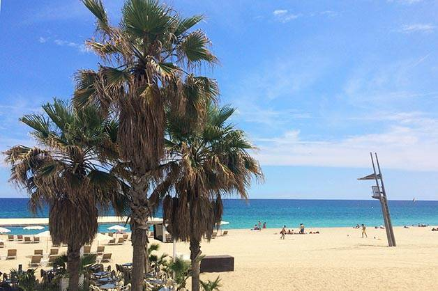 week-end plage barcelone