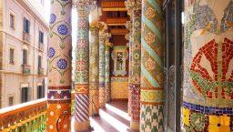 Que faire à Barcelone Palais de la musique er ses colonnes