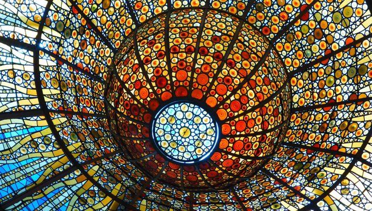 4188d9ba50ec Palau de la Música (palais de la musique): merveilleuse salle de ...