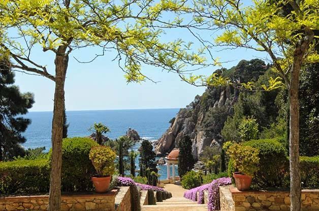 Une escapade sur la costa brava for Jardin botanique barcelone