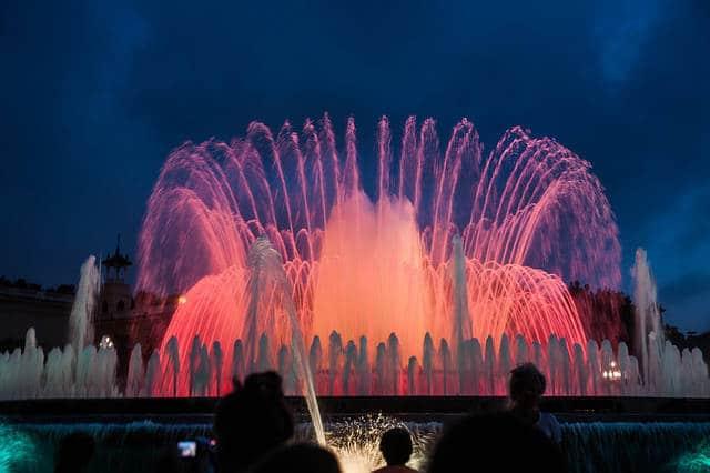 Resultado de imagen de fontaines montjuic