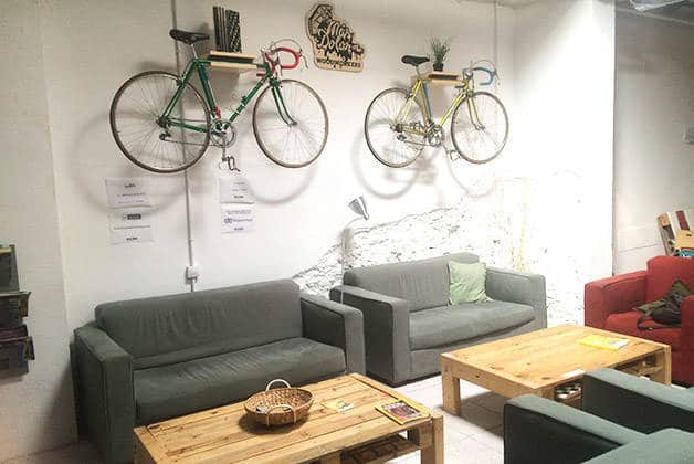 bed & bike salon