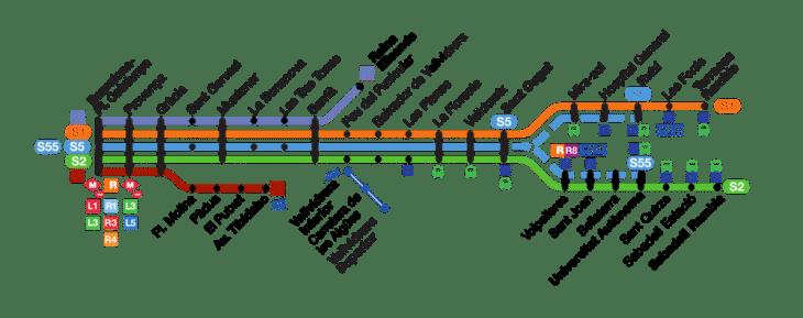 Carte Transport Barcelone Prix.Ferrocarril De Barcelone Mi Metro Mi Train De Banlieue