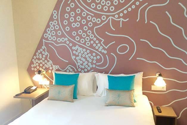 h tel ibis style centre moderne original et bien plac. Black Bedroom Furniture Sets. Home Design Ideas
