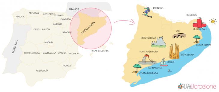 Carte De Lespagne Barcelone.Barcelone Tout Savoir Sur La Ville Avant De La Visiter Actualise