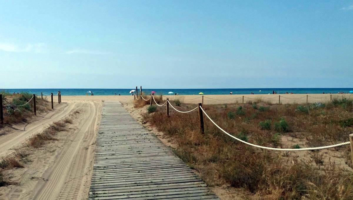 plage castelldefels