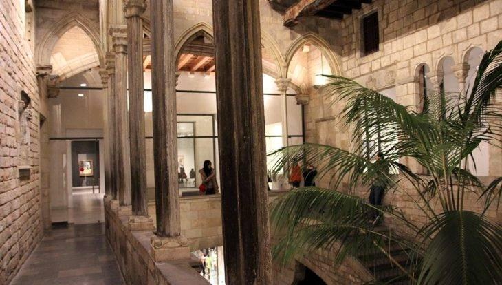 musée Picasso intérieur